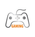 stick gaming logo concept design symbol graphic vector image