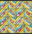 colored zigzag pattern vector image