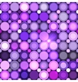 Abstract violet circles seamless pattern vector image vector image