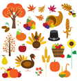thanksgiving clipart vector image vector image