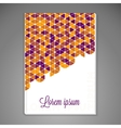 Abstract background cover vector image