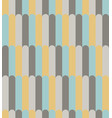 abstract yellow aqua and gray line pattern vector image vector image