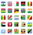 Africa flag vector image
