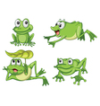 Green frogs vector | Price: 1 Credit (USD $1)