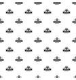 kid hat pattern seamless vector image vector image
