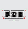 oldschool - brutal font for labels headlines vector image vector image