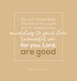 bible verse from psalm for praise god vector image vector image
