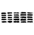 black ink splashes vector image vector image