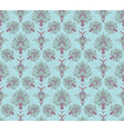 Blue Victorian seamless background vector image vector image