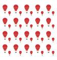 hot air balloon decoration vector image