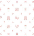performance icons pattern seamless white vector image vector image