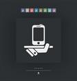 smartphone service vector image