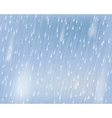 torrential rain vector image
