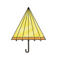 umbrella weather symbol vector image