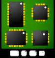 cartoon smd smt devices vector image