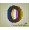 Color Transparency Symbol 0 vector image vector image