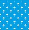 night light pattern seamless blue vector image vector image