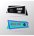 super sale banner set vector image vector image