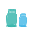 objects jars vector image