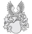 aristocratic emblem No9 vector image vector image