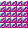 bright colorful geometric rhombus seamless vector image vector image
