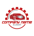 car business logo vector image vector image