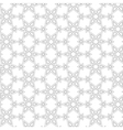 Delicate pattern in arabic style vector image vector image