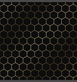 geometric hexagon pattern - seamless luxury vector image