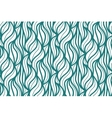seamless wave background of plants drawn vector image vector image