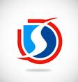 S letter business logo vector image