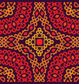 colorful tribal ethnic seamless pattern vector image
