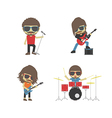 116rock band2 vector image vector image