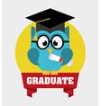 graduate design vector image vector image