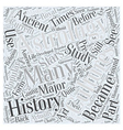 history of astrology Word Cloud Concept vector image vector image