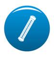 medical thermometer icon blue vector image vector image