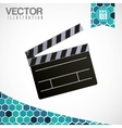 Movie icon design vector image vector image