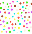 multi-colored circles on a white background vector image