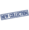 new collection stamp vector image vector image