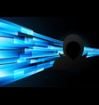 technology digital future abstract cyber security vector image vector image