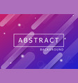 abstract background with dynamic shapes vector image vector image