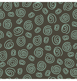 Abstract pattern spiral dark vector image vector image