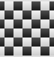 black white checkered seamless repeating pattern vector image vector image