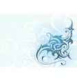 Elegant water splash vector image vector image