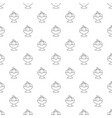 ice cream pattern seamless vector image vector image