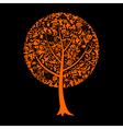 Tree Halloween vector image vector image