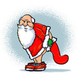 Bad Santa vector image