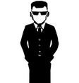 agent figure stencil