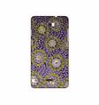 batik phonecase 4 vector image vector image