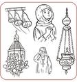 orthodox religion vector image vector image