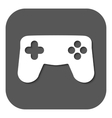 The gamepad icon Game symbol Flat vector image vector image